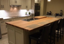 Hickory Butcher Block Countertop Armani Fine Wood Working