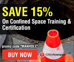 OSHA Confined Spaces Entry Training